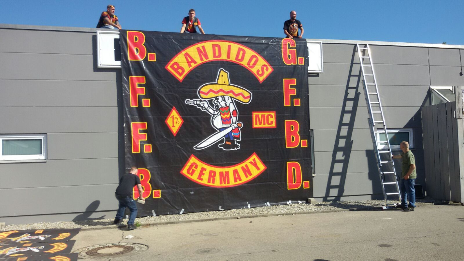Bandidos 10 Jahre_Banner